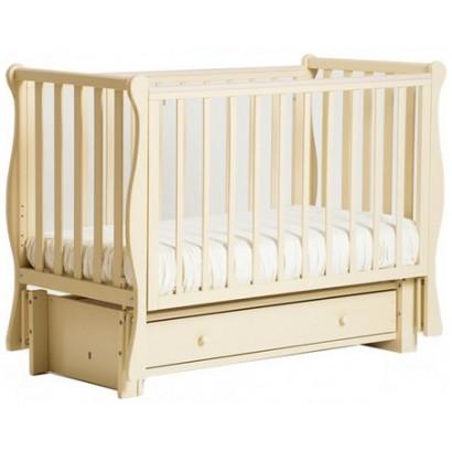Детская кроватка Кубаньлесстрой (Лель) БИ 40.3 Кубаночка-4 (маятник продольный)