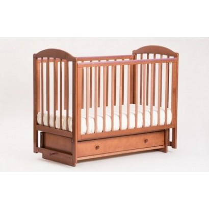 Детская кроватка Кубаньлесстрой (Лель) БИ 41.2 Кубаночка-5 (маятник поперечный)