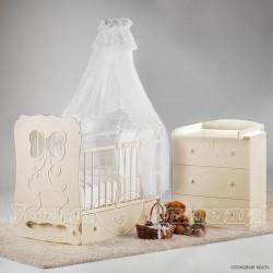 Детская комната для новорождённого Островок уюта Мальвина, 3 предмета