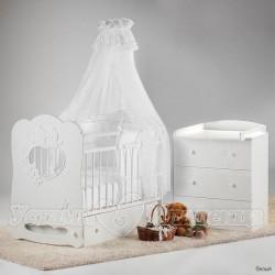 Комната для младенца Островок уюта Птенчики, 3 предмета