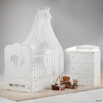 Набор для детской комнатки Островок уюта Птенчики, 3 предмета