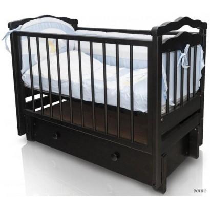 Детская кроватка Можгинский лесокомбинат Купава продольный маятник с ящиком