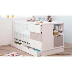 Детская кровать трансформер 6в1 Polini Classic