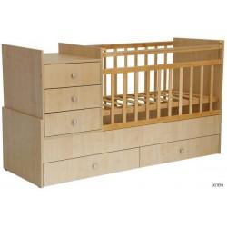 Детская кровать трансформер Фея 1000