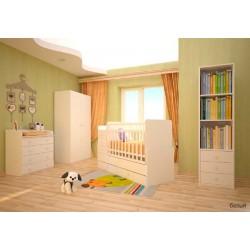 Детская кроватка трансформер с маятником Фея 1100