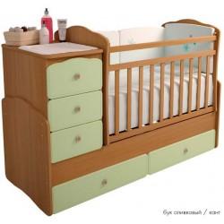 Детская кроватка трансформер-маятник Фея 2150