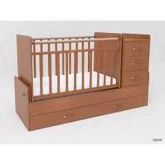 Детская кровать-трансформер с маятником и комодом СКВ-5