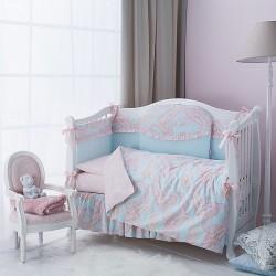 Комплект в детскую кроватку Perina Шантель  6 предметов