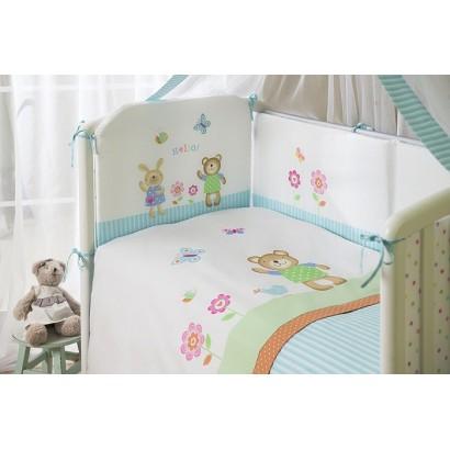 Комплект в кроватку Perina Глория для новорождённого 4 предмета