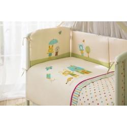Комплект в детскую кроватку для новорождённого Perina Глория из 4 предметов