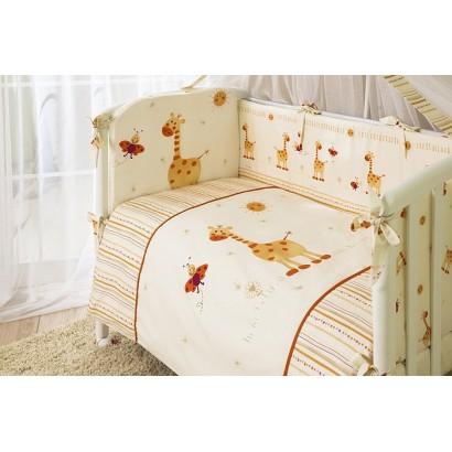 Комплект в кроватку Perina Кроха для новорождённого 4 предмета