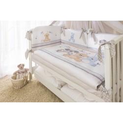 Комплект в детскую кроватку для новорождённого Perina Венеция из 4 предметов