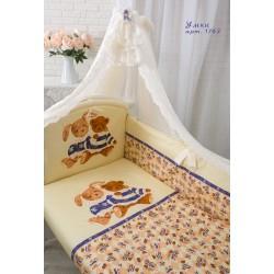 """Комплект в кроватку для новорожденного Золотой гусь """"Умки"""", 7 предметов"""