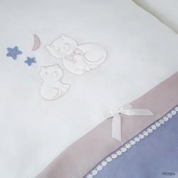 Комплект в детскую кроватку Perina Котята 6 предметов
