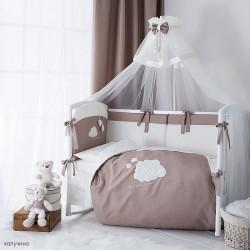 Набор для детской кроватки Перина Бамбино 6 предметов