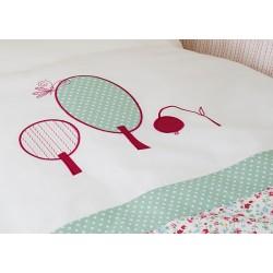 Комплект в кроватку для новорождённого Perina Клюковка 6 предметов
