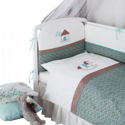 Комплект в кроватку детскую Perina Жила-была Лошадка 6 предметов