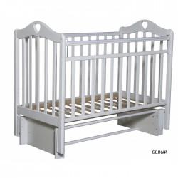 Детская кроватка Антел Каролина 3/5 универсальный маятник