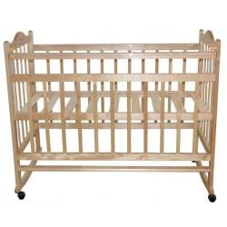Детская кроватка для новорожденного Briciola-1 качалка+колёсики