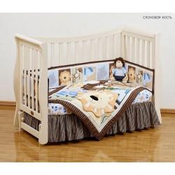 Детская кроватка с продольным маятником Giovanni Fresco (Джованни Фреско)