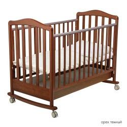 Детская кроватка для новорожденного-качалка Papaloni Винни 120x60см (Папалони)