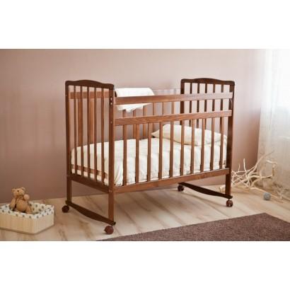Детская кроватка для новорожденного Можга (Красная звезда) Максим С 741 качалка+колёса