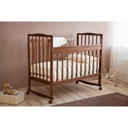 Детская кроватка для новорожденного Красная звезда Максим С 741 Можга (качалка+колёса)