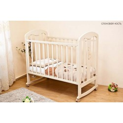 Детская кроватка для новорожденного Можга Красная звезда Вилона С 703