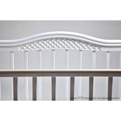 Детская кроватка для новорожденного продольный маятник Лель Азалия Кубаньлесстрой БИ 10.3