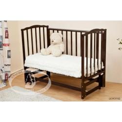 Детская кроватка Можга Красная звезда Кристина С819 универсальный маятник (продольный и поперечный)