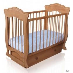 Детская кроватка Можгинский лесокомбинат Елена поперечный маятник с ящиком