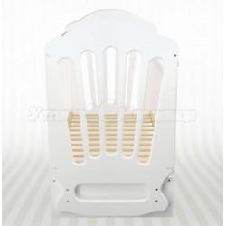 Детская кроватка для новорожденного Агат Папа Карло 2/1  с поперечным маятником и ящиками