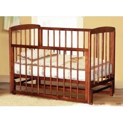 Детская кроватка с продольным маятником без ящика Дарья (Можгинский лесокомбинат)