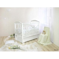 Детская кроватка Можга Красная звезда Руслан С 725 с универсальным маятником