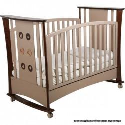Детская кроватка для новорожденного-качалка Papaloni Luna (Папалони)