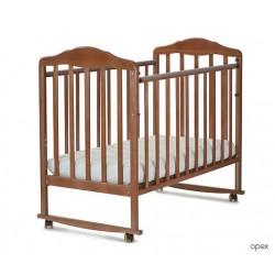 Детская кроватка для новорожденного СКВ Берёзка 12011 качалка+колёса