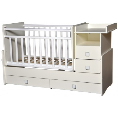 Детская кроватка трансформер маятник Антел Ульяна-4