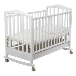 Детская кроватка для новорожденного-качалка Papaloni Луи 120x60 см (Папалони)