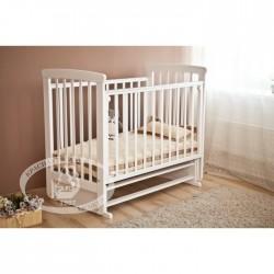 Кроватка для новорожденного Можга Марина С-700 Красная звезда поперечный маятник