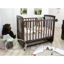 Кроватка для новорожденного Можга Красная звезда Марина С-700 поперечный маятник