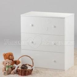 Детский комод со столиком для пеленания Островок уюта Слонёнок