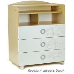 Детский пеленальный комод СКВ 70003 Сова