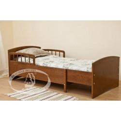 Подростковая раздвижная кровать Можга Красная звезда С 633 с барьером