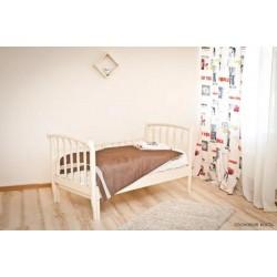 Подростковая раздвижная кровать Можга Красная звезда Савелий С 823 с барьером
