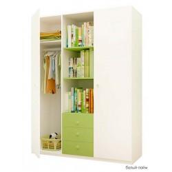 Шкаф для детской комнаты Фея 3-х секционный