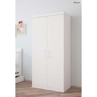 Шкаф для детской комнаты двухсекционный Polini Classic