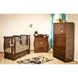"""Комната для новорожденного """"Весеннее вдохновение"""" (шоколад), 3 предмета"""