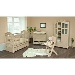 """Комната новорожденного """"Изящная коллекция"""" (слоновая кость), 4 предмета"""