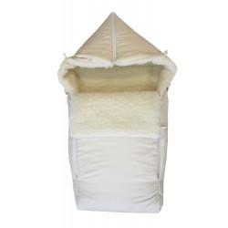 Зимний конверт для новорождённого на овчине Монис Стиль Классика