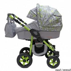Детская коляска для двойни 2 в 1 Terra Polmobil